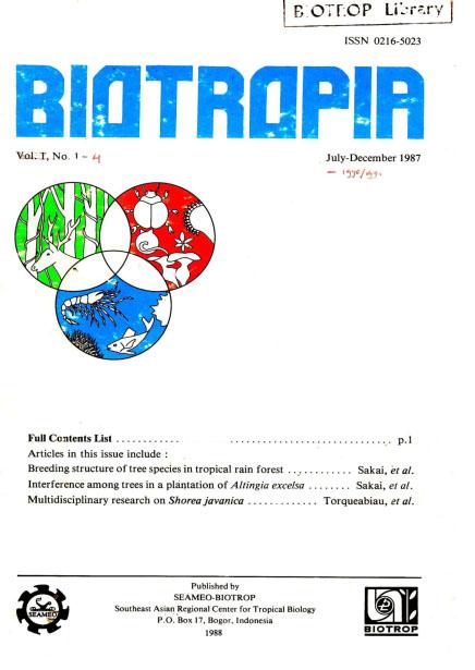 View Vol. 1 No. 1 (1987)
